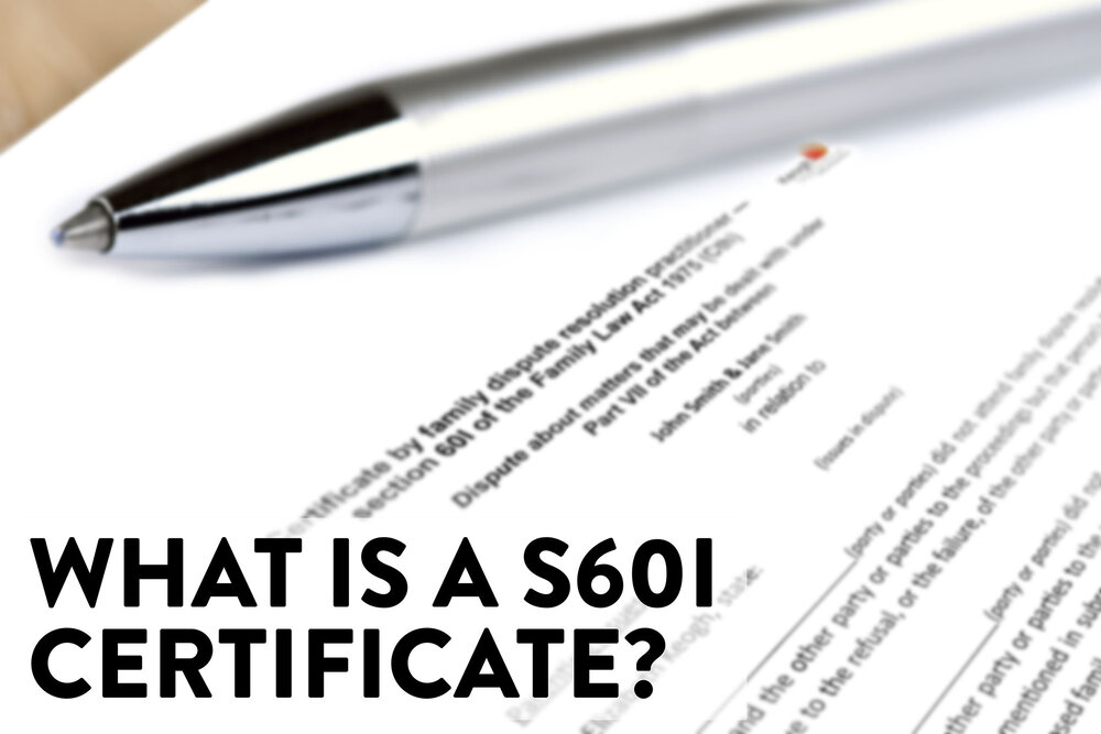 Silver pen laid on a legal S601 document