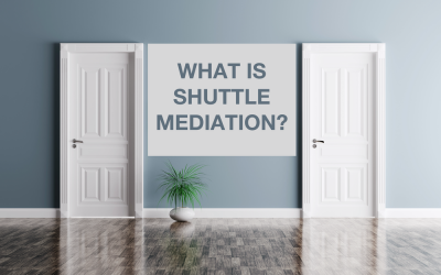 What is shuttle mediation?
