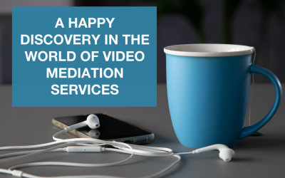 A happy discovery in the world of video mediation services